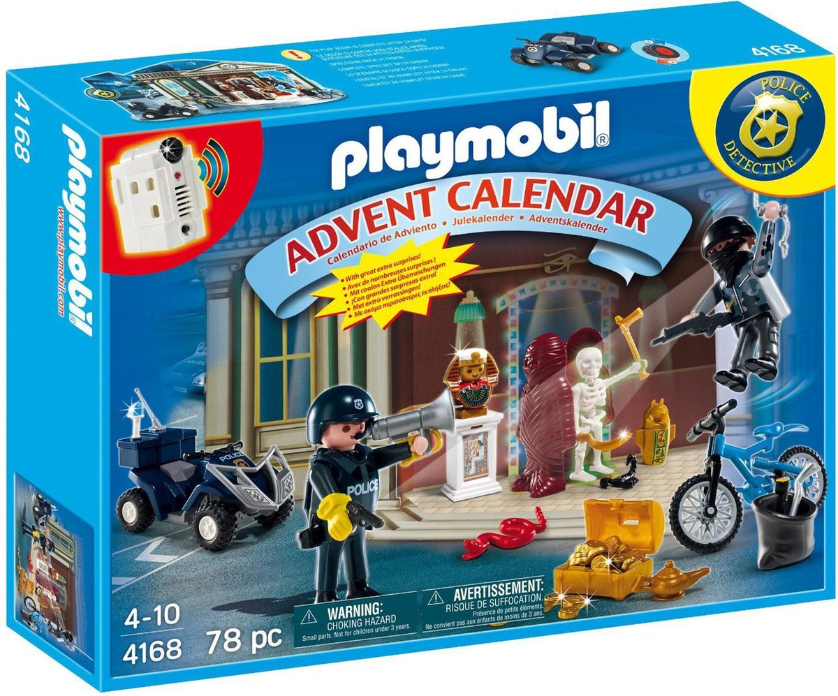 PLAYMOBIL Adventskalender - Museumroof Met Extra Verrassingen - 4168