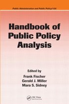Handbook of Public Policy Analysis