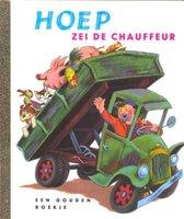 Boek cover Hoep zei de chauffeur van Miryam (Hardcover)