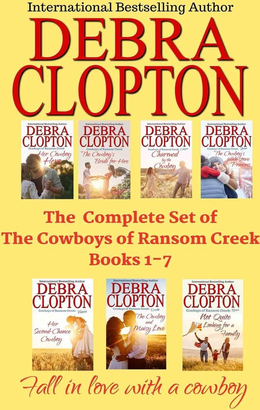 The Complete Set of The Cowboys of Ransom Creek