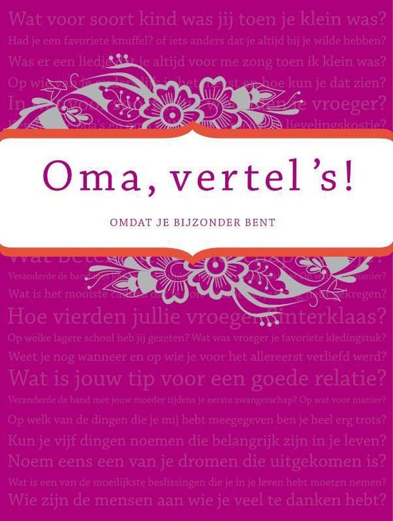 Oma vertel 's - Elma van Vliet |