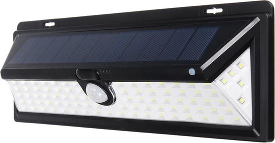SensaHome Solar Lamp 90 Led met Bewegingssensor en Nachtsensor - Tuinverlichting op Zonne-energie