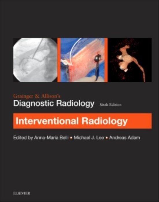Omslag van Grainger & Allison's Diagnostic Radiology: Interventional Imaging