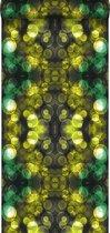 Origin behang kaleidoskoop-motief geel en groen - 337201