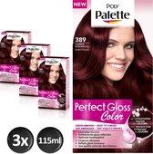 Poly Palette Perfect Gloss 389 Robyn Haarverf - 3 stuks - Voordeelverpakking