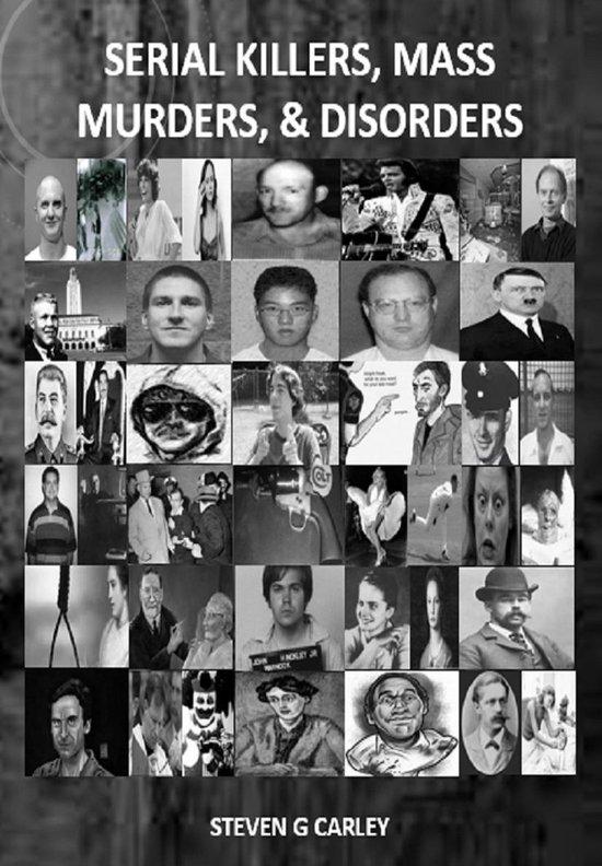 Omslag van Serial Killers, Mass Murders, & Disorders