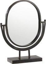Dulaire Make Up Spiegel Op Voet Zwart