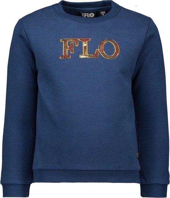 Like Flo Sweater blauw |