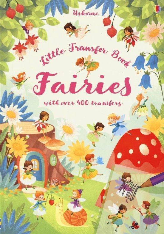 Boek cover Fairies Transfer Book van Abigail Wheatley (Paperback)