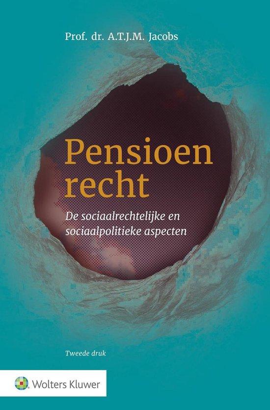 Pensioenrecht - A.T.J.M. Jacobs |