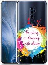 Oppo Reno 10X Zoom Hoesje Painting