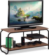 Tv Kast Salon Tafel.Bol Com Relaxdays Tv Kast Salontafel Tv Meubel Houtlook