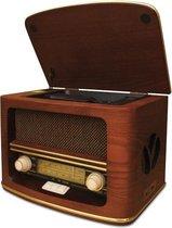 Camry CR 1109 Retro houten radio met CD / mp3 / USB