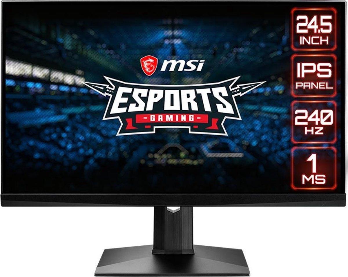MSI Optix MAG251RX – IPS Gaming Monitor (240 Hz)
