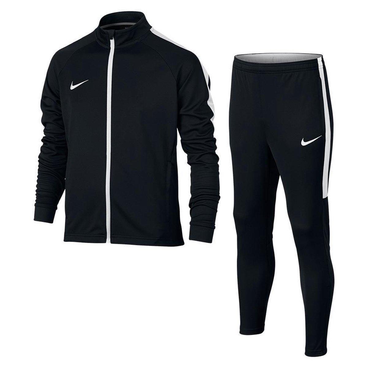 | Nike Dry Academy trainingspak kids zwartwit