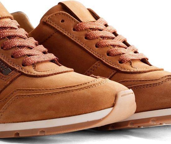 Nogrz E.blore - Leren Dames Sneaker Cognac Maat 39 aiSCTa