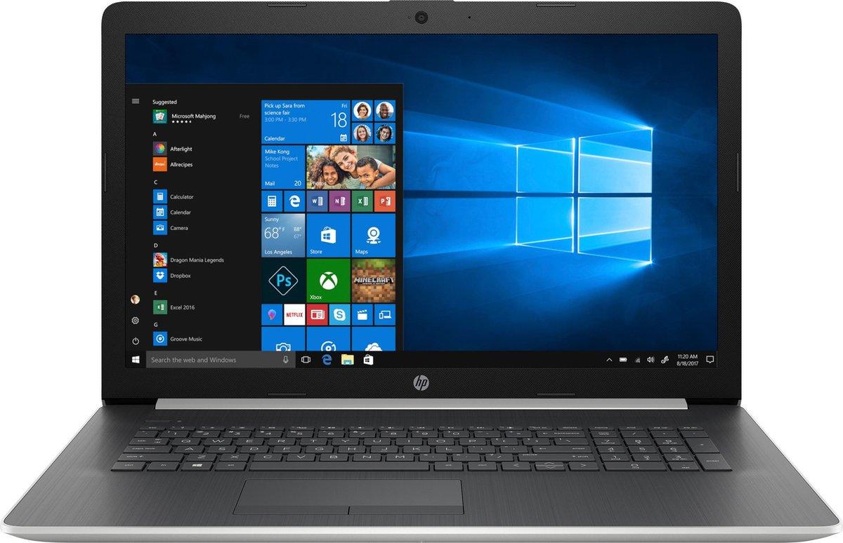 "HP Notebook - 17-ca1450nd DDR4-SDRAM 43,9 cm (17.3"") 1600 x 900 Pixels AMD Ryzen 5 8 GB 256 GB SSD Wi-Fi 5 (802.11ac) Windows 10 Home Zilver"