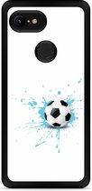 Google Pixel 3 Hardcase hoesje Soccer Ball