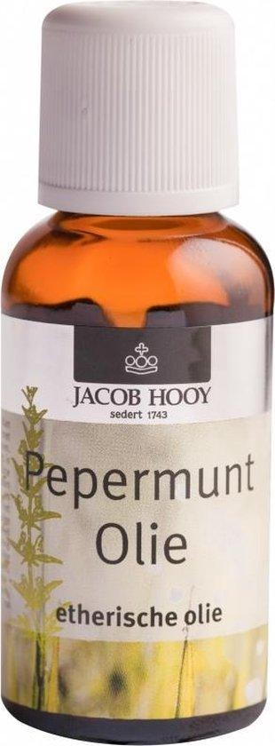 Jacob Hooy Pepermunt - 30 ml - Etherische Olie