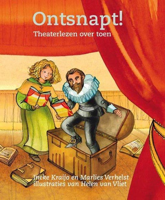 Boek cover Ontsnapt! van Ineke Kraijo (Hardcover)