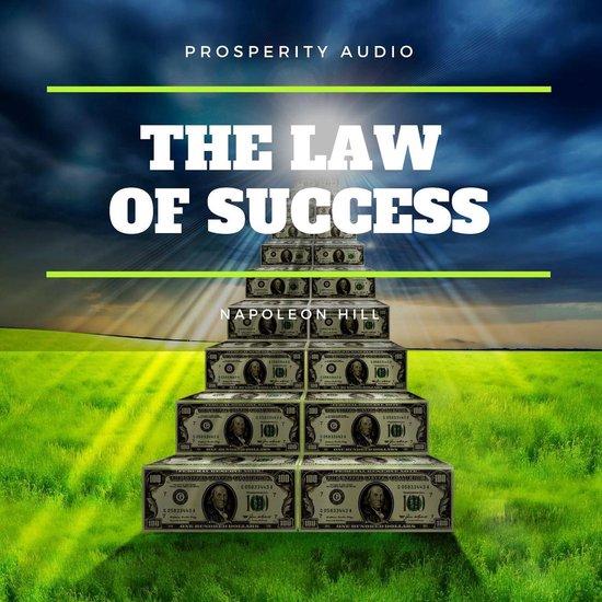Boek cover The Law of Success van Napoleon Hill (Onbekend)