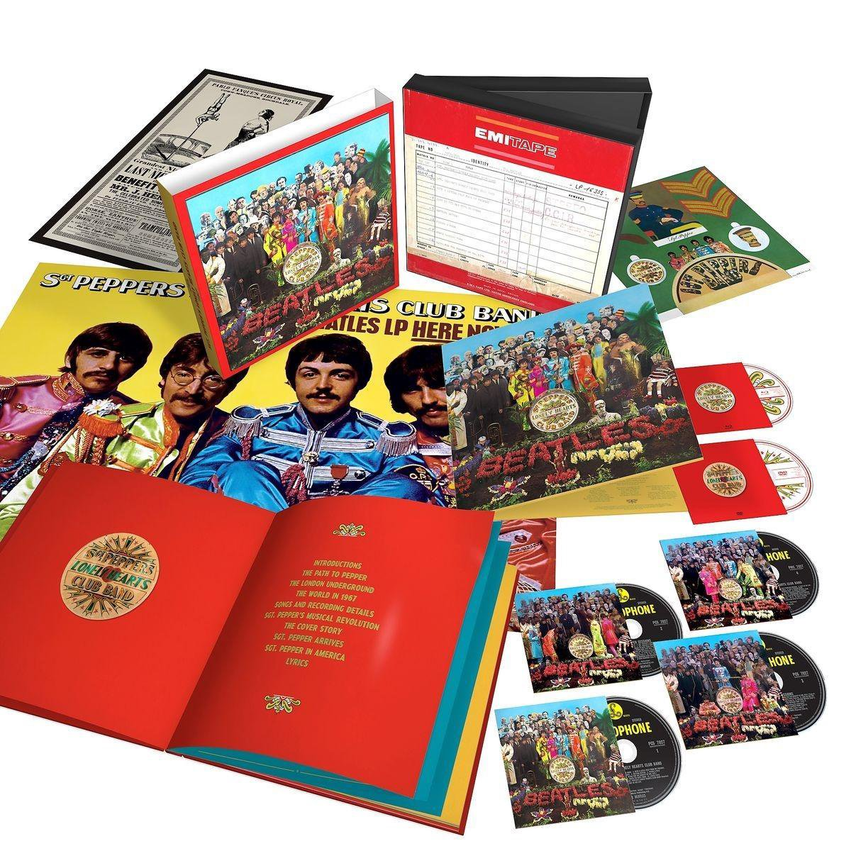 Bol Com Sgt Pepper S Lonely Hearts Club Band Anniversary Super Deluxe Edition 6 Disc The