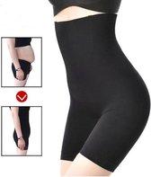 Shapewear voor billen, buik en dijen - corrigerend ondergoed high waist - zwart - maat XL/XXL