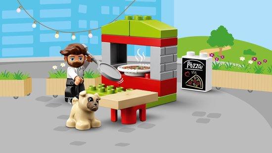 LEGO DUPLO Pizza Kraam - 10927