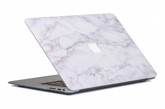 Lunso - cover hoes - MacBook Air 13 inch (2010-2017) - Marble Cosette - Lunso