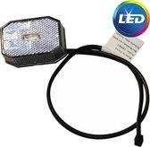 Aspock Flexipoint LED - wit - 50 cm platte kabel - DC kabel