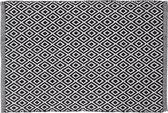 Sealskin Trellis Badmat - 60x90 cm - Zwart