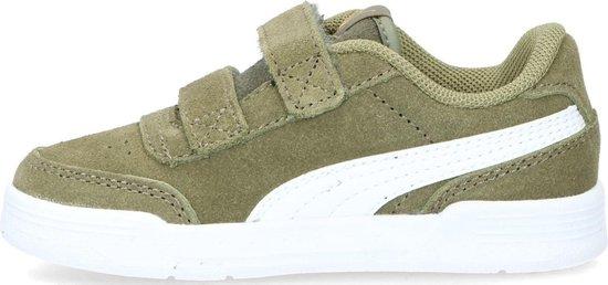 Puma Caracal SD Infant sneakers groen - Maat 25