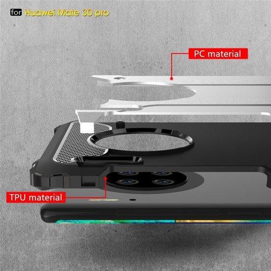 Mobigear Tough Armor Gunmetal Goud Huawei Mate 30 Pro
