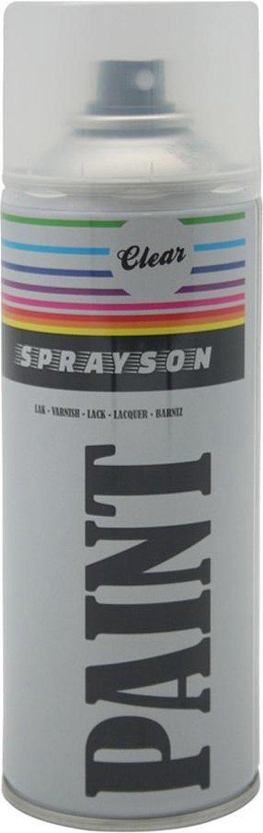 Sprayson blanke lak 400 ml
