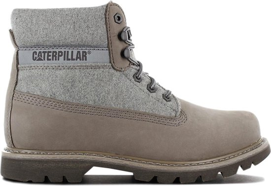 CAT Caterpillar Colorado Wool P722966 Heren Boots Grijs - Maat EU 46 UK 12
