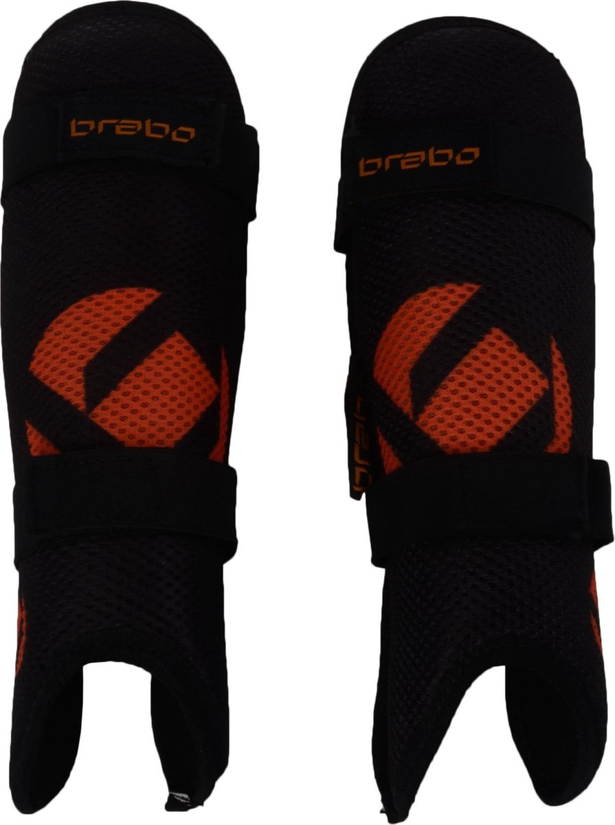 Brabo ScheenbeschermerKinderen CONVERT-- - zwart/oranje - Brabo
