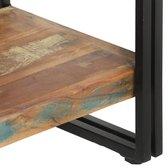 vidaXL Boekenkast met 5 schappen 140x30x180 cm massief gerecycled hout  VDXL_286583