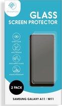 iMoshion Screenprotector Samsung Galaxy A11, Samsung Galaxy M11 Gehard Glas - 2 Pack