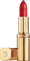 L'Oréal Paris Color Riche Satin Lipstick - 152 a La Mode - Rood - Verzorgende, Lippenstift verrijkt met Arganolie - 4,54 gr