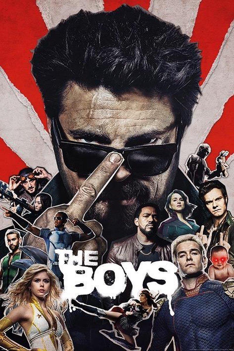The Boys Sunburst Poster 61x91.5cm