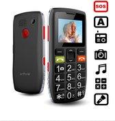 Artfone C1 - Senioren Mobiele Telefoon - SOS functie - Grote knoppen - Valbescherming- Mobiele Senioren GSM