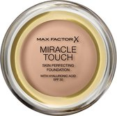 Bol.com-Max Factor Miracle Touch Compact Foundation - 045 Warm Almond-aanbieding