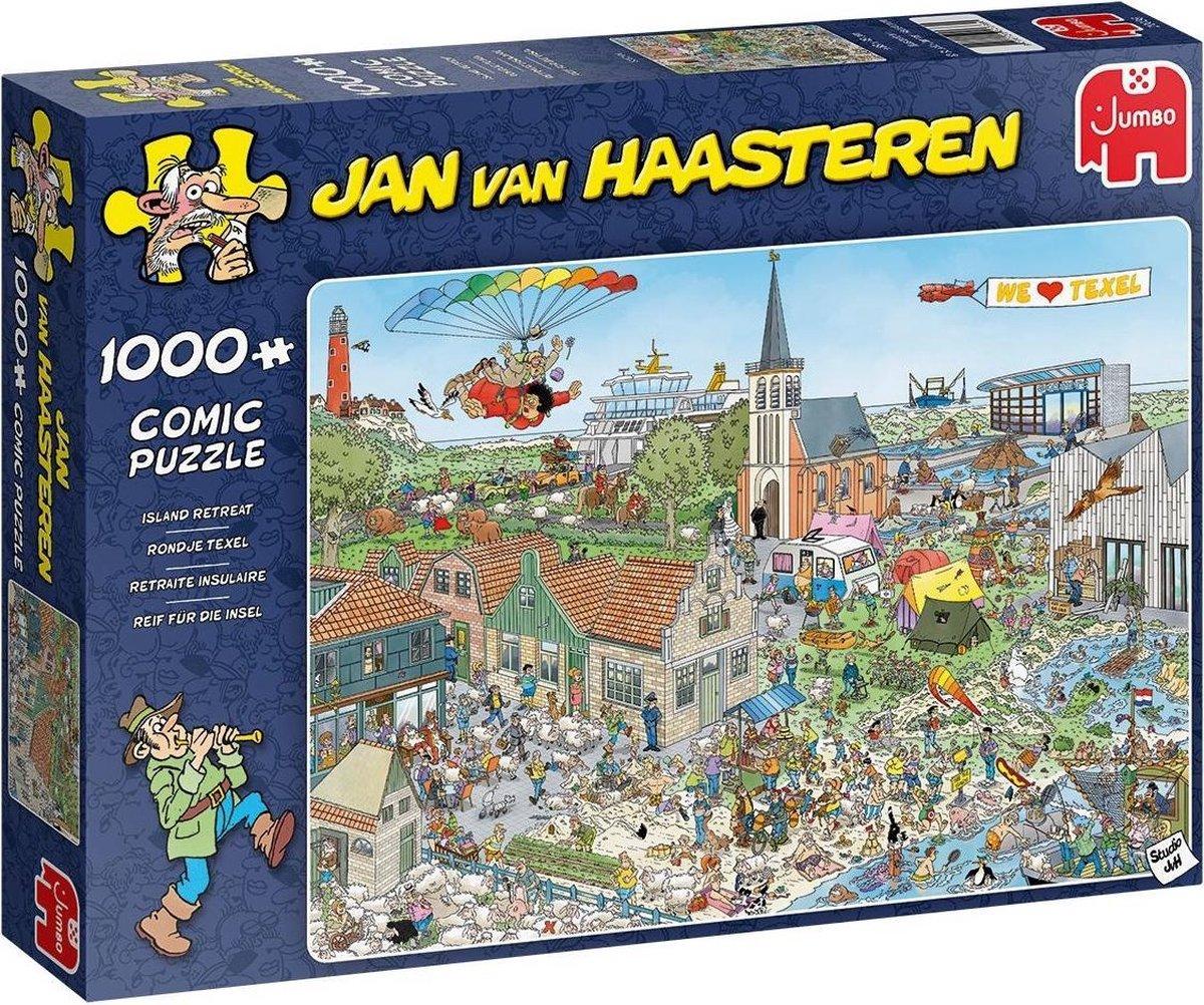 Jan Van Haasteren Rondje Texel puzzel - 1000 stukjes