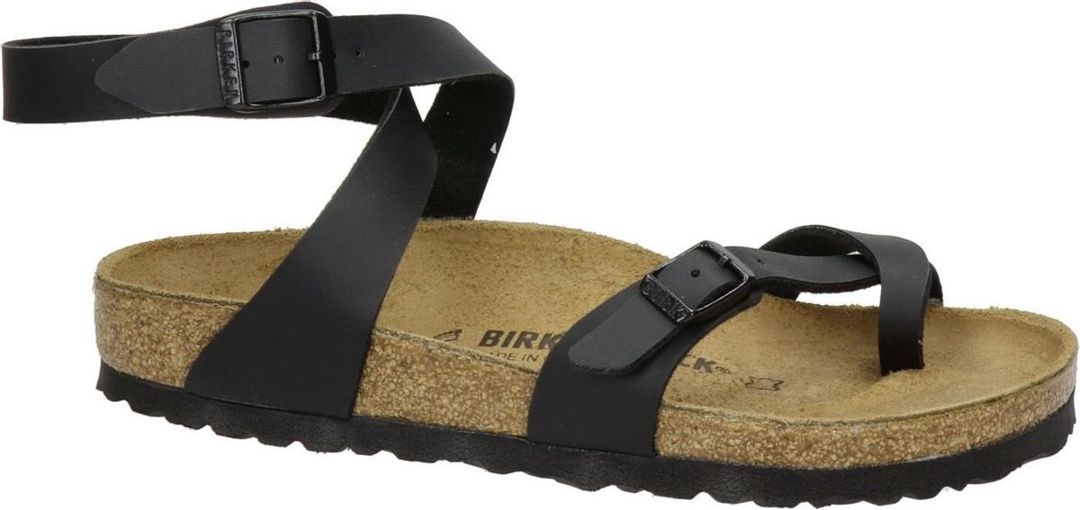 Birkenstock Yara Dames Sandalen Regular fit - Black - Maat 39