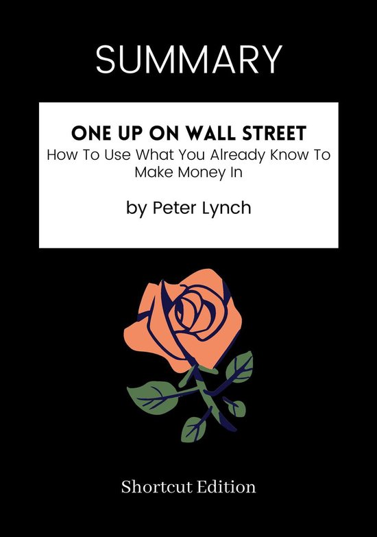 Boek cover SUMMARY - One Up On Wall Street: van Shortcut Edition (Onbekend)