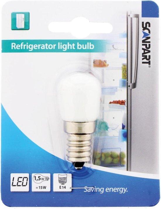 Koelkast: Scanpart Koelkastlamp E14 15w Led, van het merk Scanpart