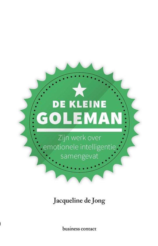 Boek cover De kleine Goleman van Jacqueline de Jong (Onbekend)