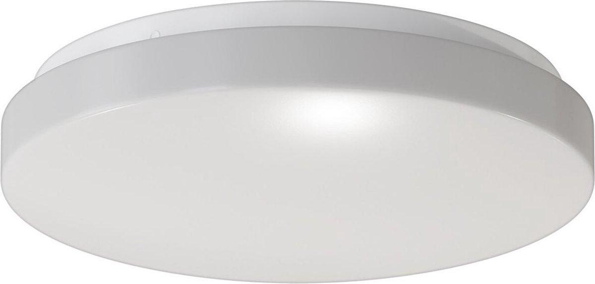CALEX - LED Plafondlamp - Smart Plafondverlichting - 20W - Aanpasbare Kleur - Rond - Mat Wit - Aluminium - BSE