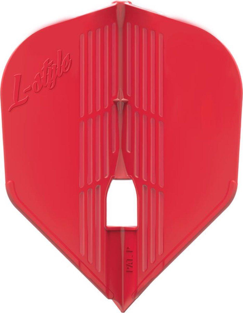 L-Style Champagne Flight Kami L3 Shape Red