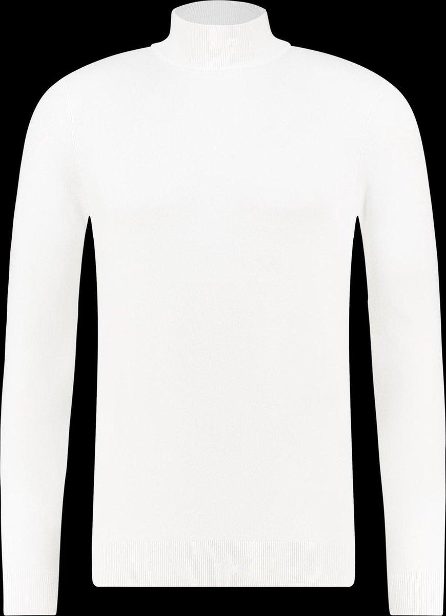 Purewhite Essential Knit Mockneck - Off White